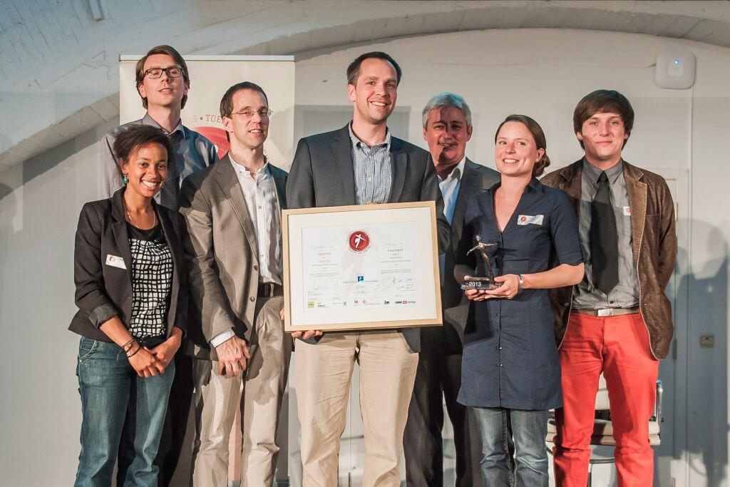 Proclamatie Grote Prijs Toekomstige Generaties 2013-Belvas