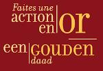 Logo Action en Or