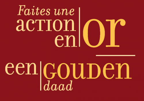 Gouden Daad_ Action en or NL/FR